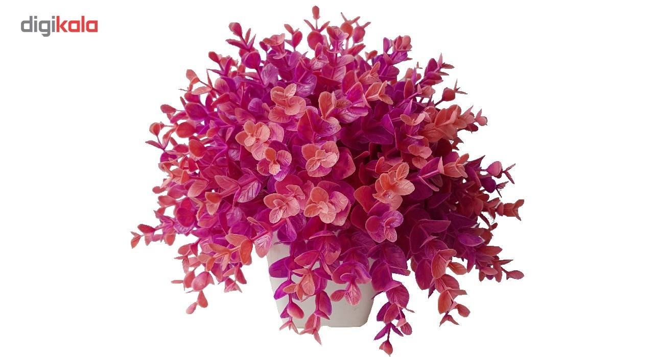 گلدان به همراه گل مصنوعی بخشی مدل SH313 main 1 10
