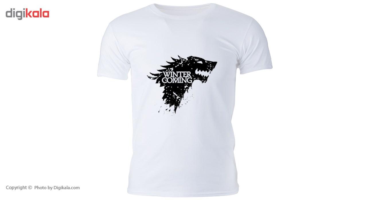 تی شرت مردانه گالری واو - طرح Game of thrones- کد CT10101
