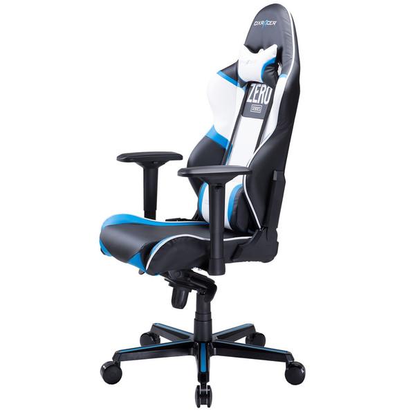 صندلی گیمینگ دی ایکس ریسر سری ریسینگ مدل OH/RV118/NBW/ZERO چرمی