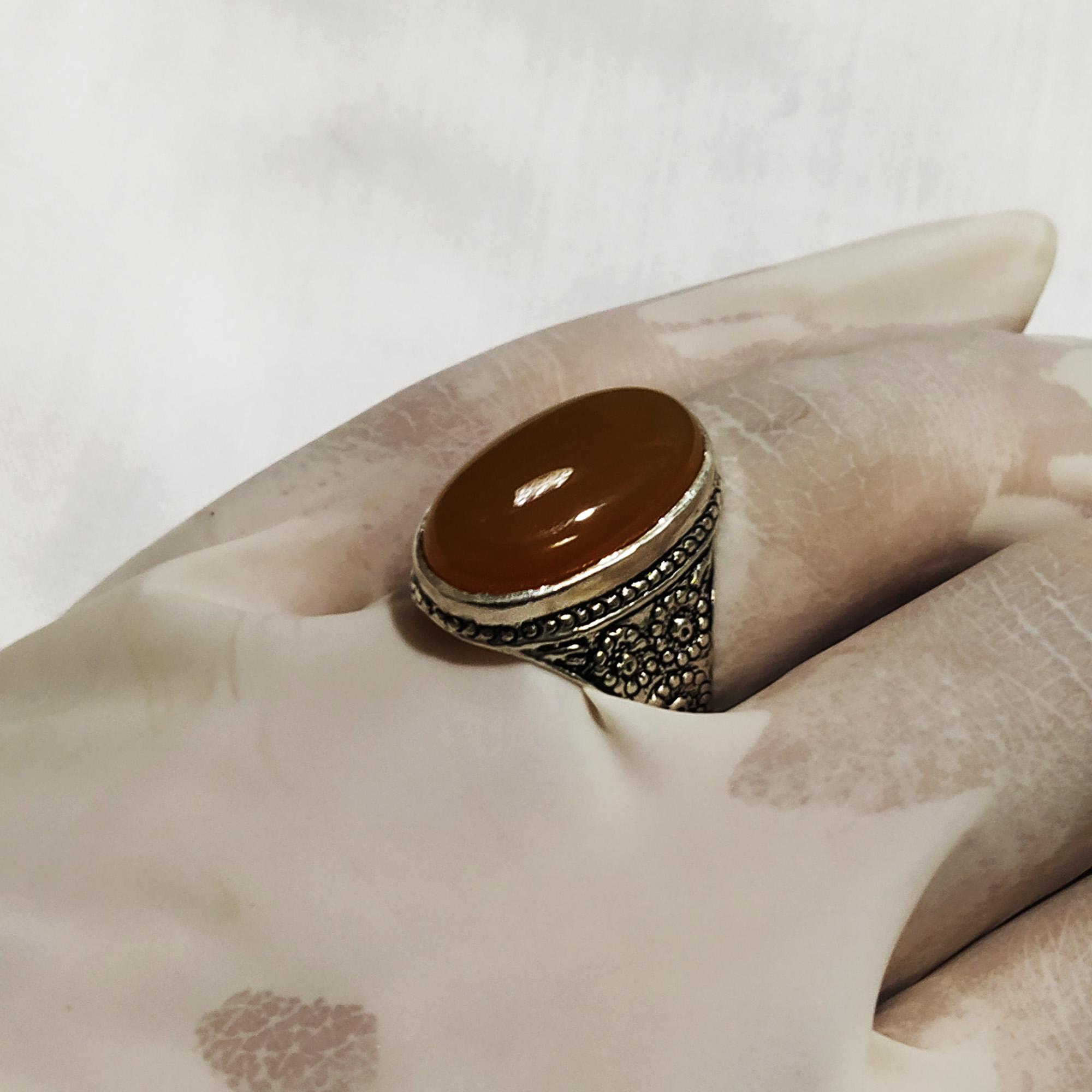 انگشتر نقره مردانه سلین کالا مدل ce-As71