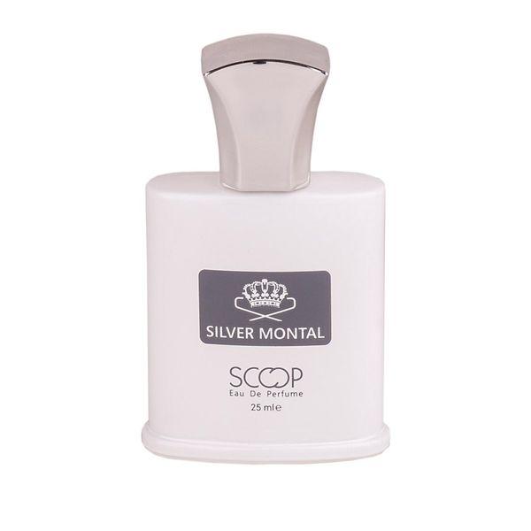 ادو پرفیوم مردانه اسکوپ مدل Silver Montral حجم 25 میلی لیتر