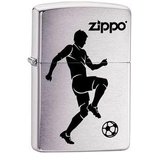فندک زیپو مدل Soccer Player کد 29201
