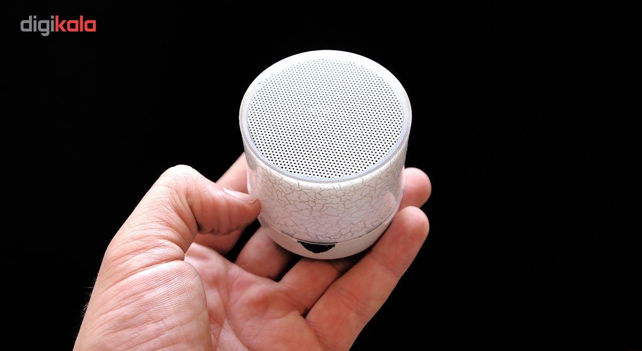 اسپیکر بلوتوثی قابل حمل طرح Stone چراغ دار main 1 4