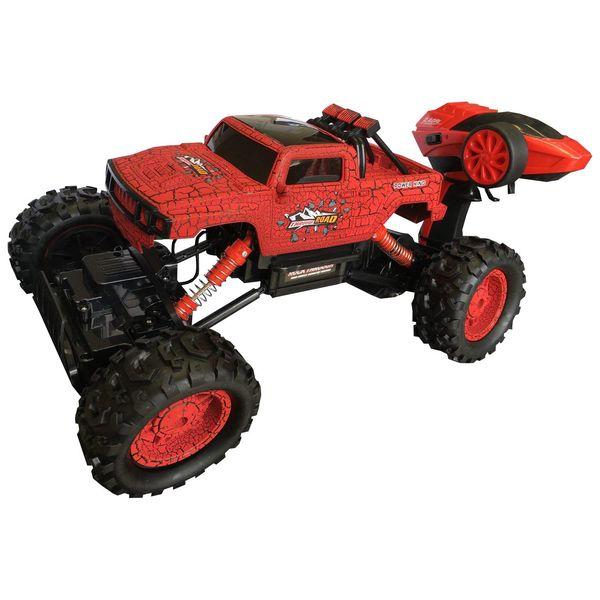 ماشین اسباب بازی کنترلی Racing Rally مدل آفرود قدرتی آبی | Racing Rally