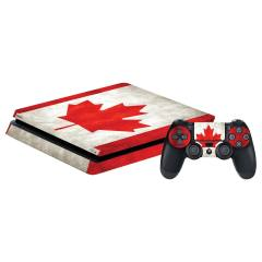برچسب افقی پلی استیشن 4 اسلیم  گراسیپا طرح کانادا 2