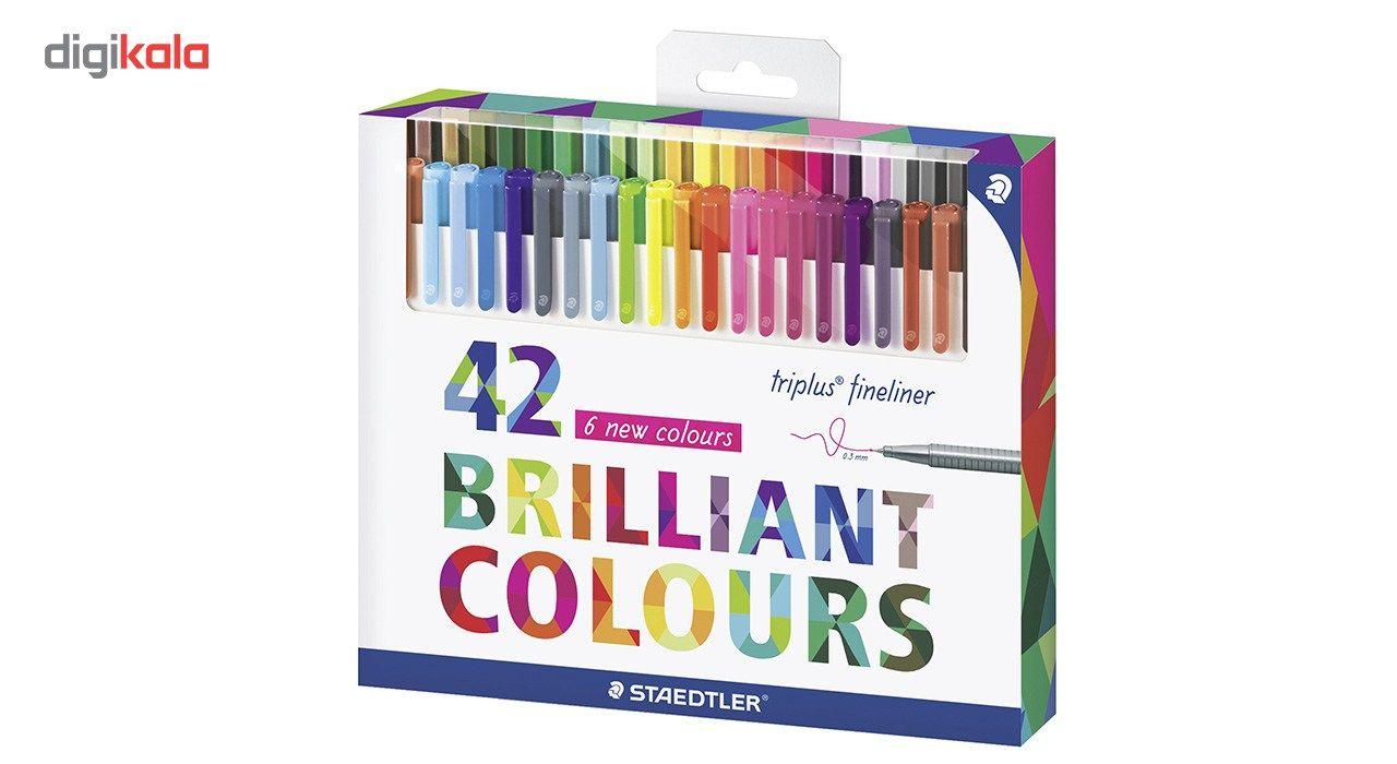 روان نویس 42 رنگ استدلر مدل Triplus Fineliner Brilliant Colours main 1 1