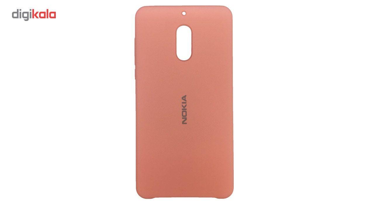 کاور سیلیکونی مناسب برای گوشی موبایل نوکیا 6 main 1 2