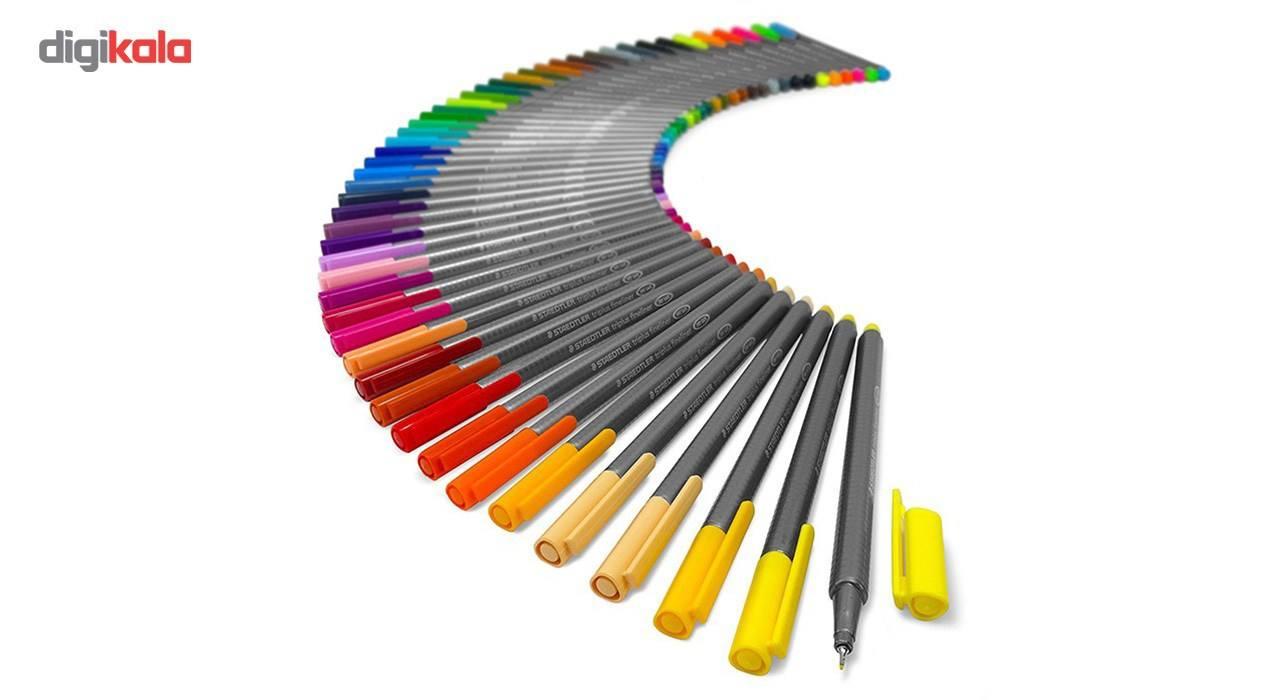 روان نویس 42 رنگ استدلر مدل Triplus Fineliner Brilliant Colours main 1 4
