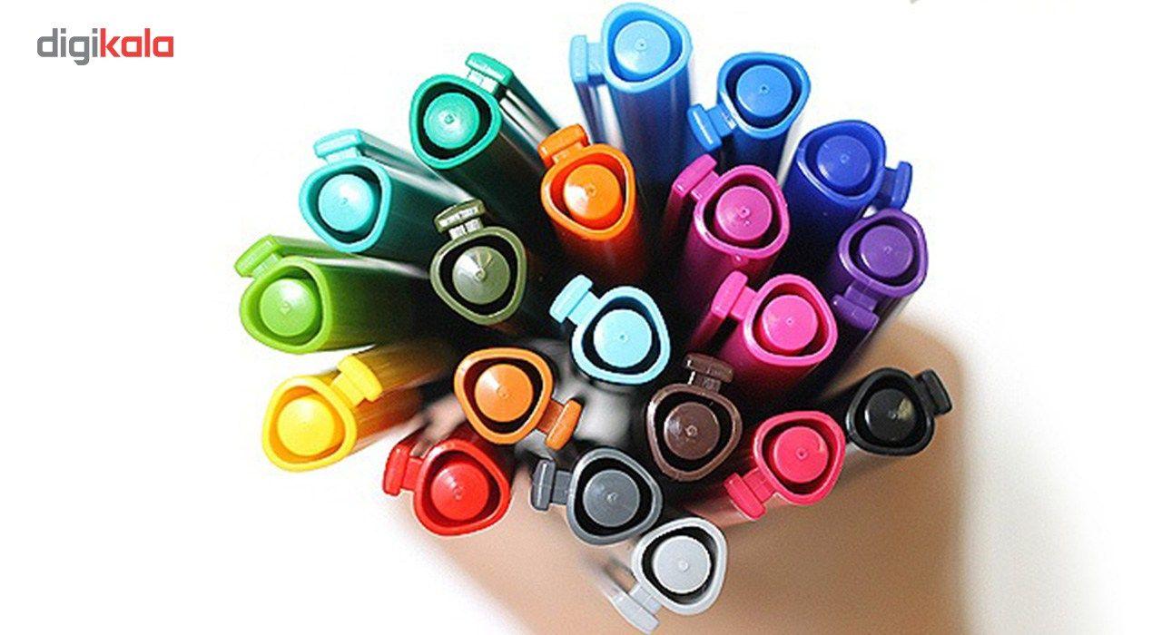 روان نویس 42 رنگ استدلر مدل Triplus Fineliner Brilliant Colours main 1 5