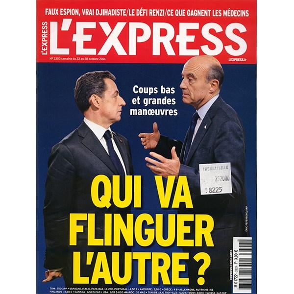 مجله L'Express - بیست و دوم اکتبر 2014