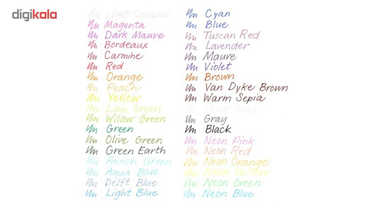 روان نویس 42 رنگ استدلر مدل Triplus Fineliner Brilliant Colours main 1 8