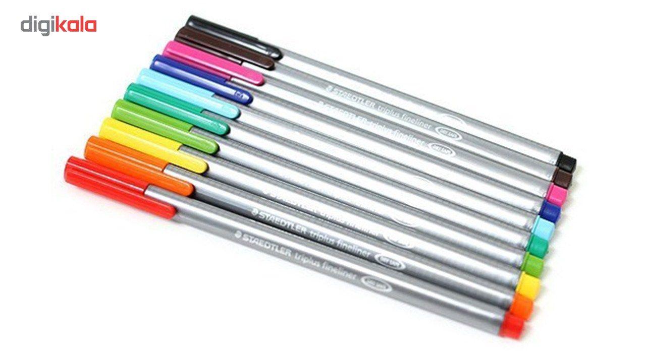 روان نویس 42 رنگ استدلر مدل Triplus Fineliner Brilliant Colours main 1 9