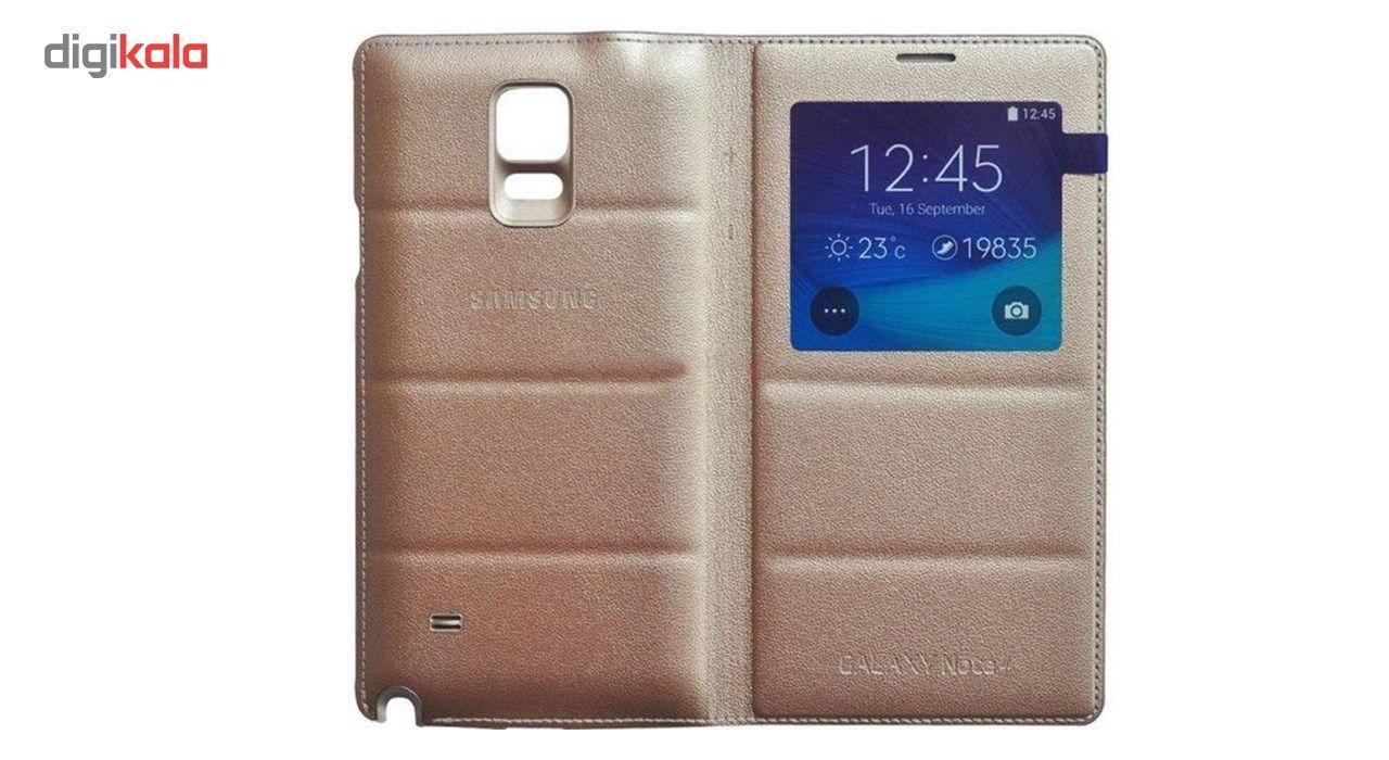 کیف کلاسوری سامسونگ مدل S View Big Window Wallet مناسب برای گوشی موبایل سامسونگ گلکسی نوت 4