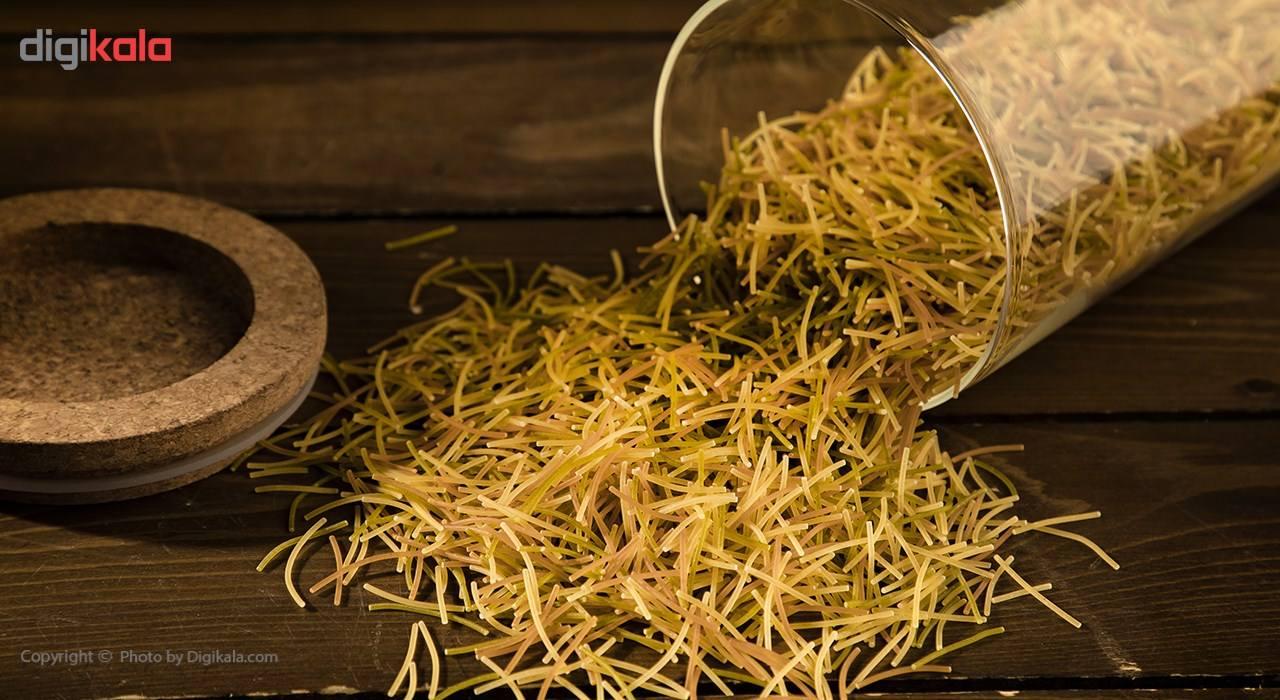 رشته فرنگی فیدلی با طعم سبزیجات تک ماکارون مقدار 500 گرمی main 1 1