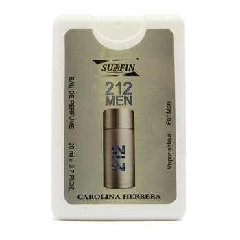 عطر جیبی مردانه سورفین مدل 212 By Carolina Herrera حجم 20 میلی لیتر