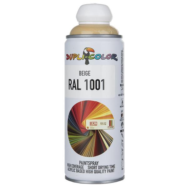 اسپری رنگ بژ دوپلی کالر مدل RAL 1001 حجم 400 میلی لیتر