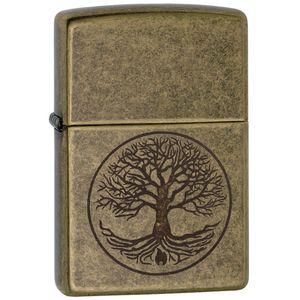 فندک زیپو مدل Tree Of life کد 29149