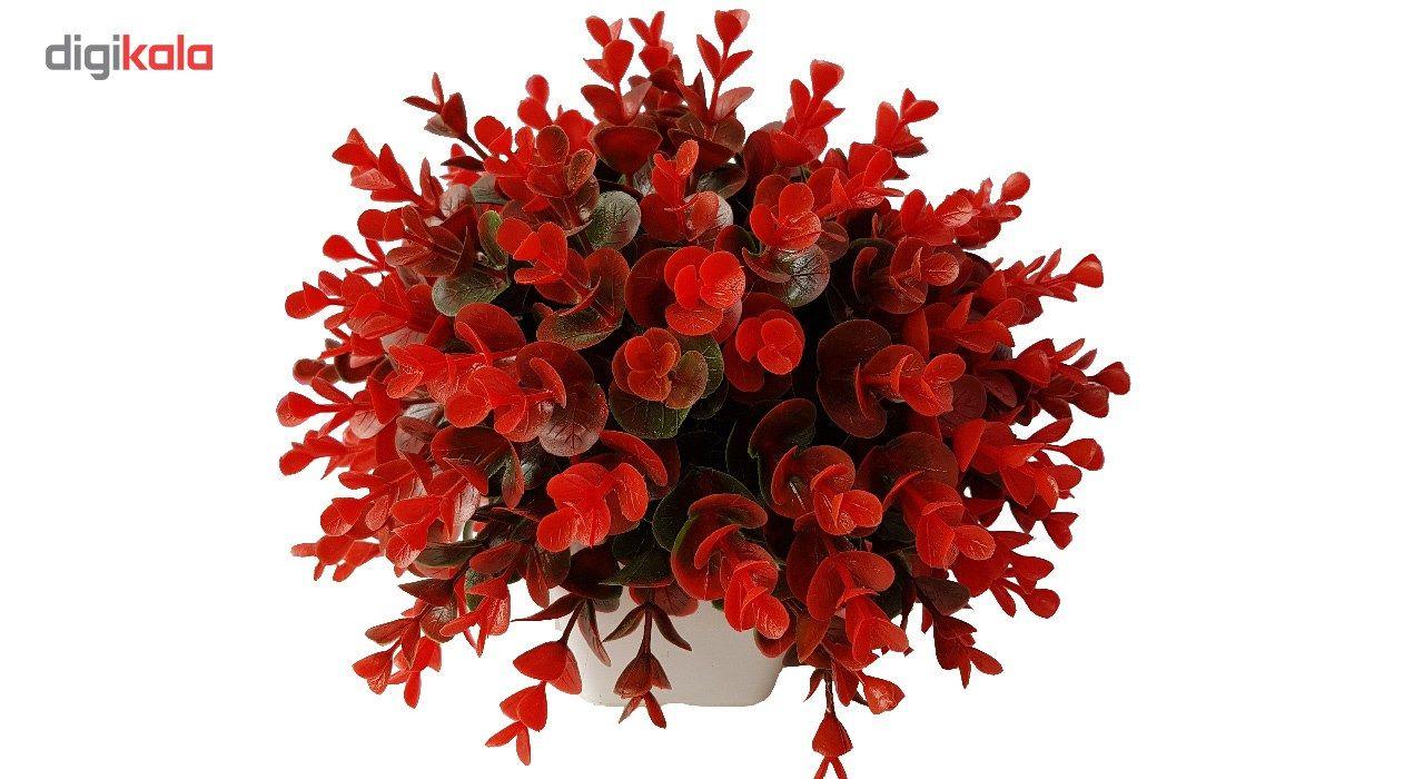 گلدان به همراه گل مصنوعی بخشی مدل SH313 main 1 12