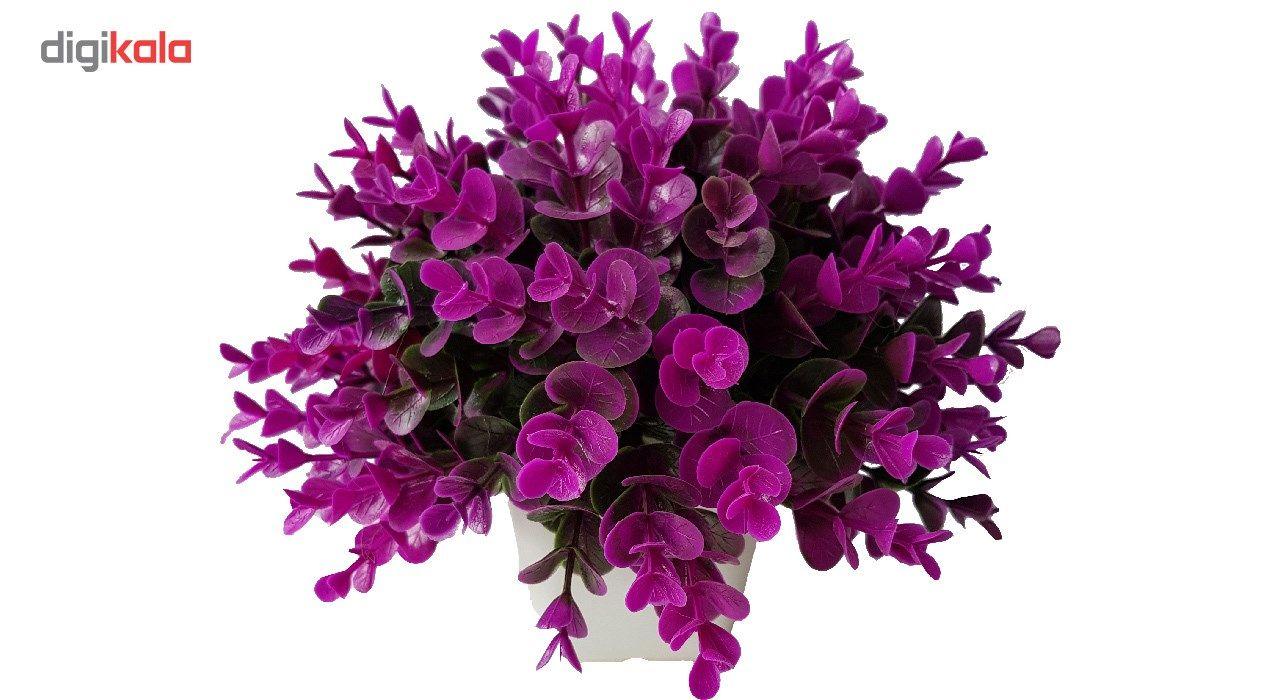 گلدان به همراه گل مصنوعی بخشی مدل SH313 main 1 13