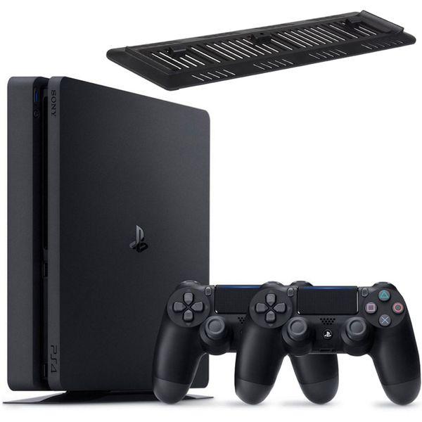 کنسول بازی سونی مدل Playstation 4 Slim کد CUH-2115B Region 1 - ظرفیت 1 ترابایت | Sony Playstation 4 Slim Region 1 CUH-2115B 1TB Game Console