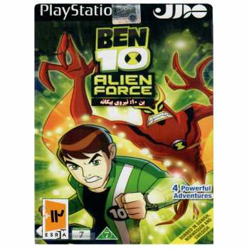 بازی BEN 10 Alien Force مخصوص PS2
