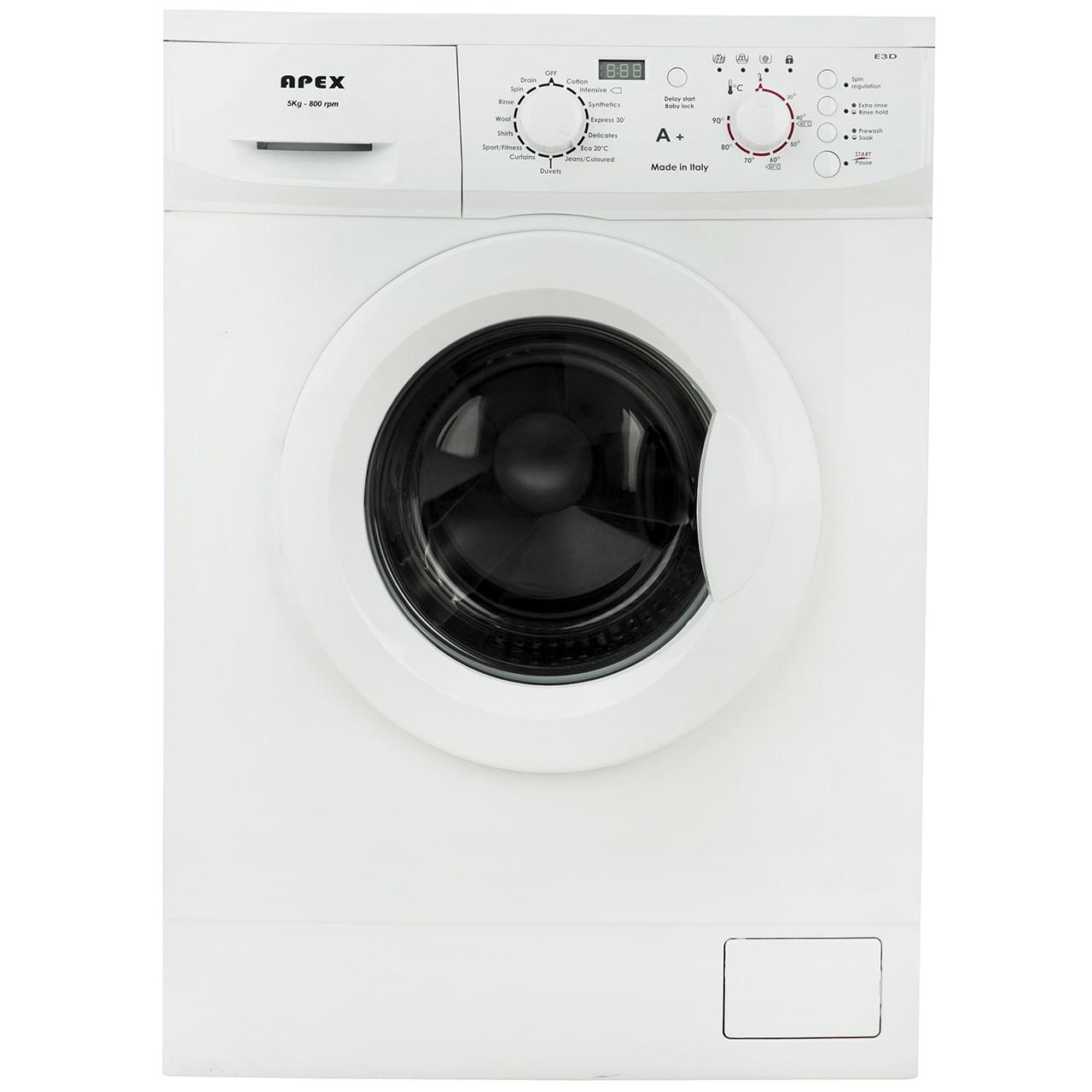 ماشین لباسشویی اپکس مدل 01