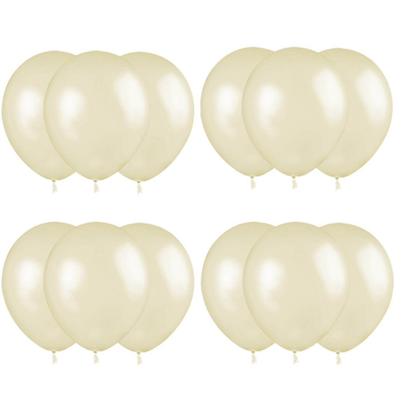 بادکنک پارتی مدل Helium Quality بسته 12 عددی