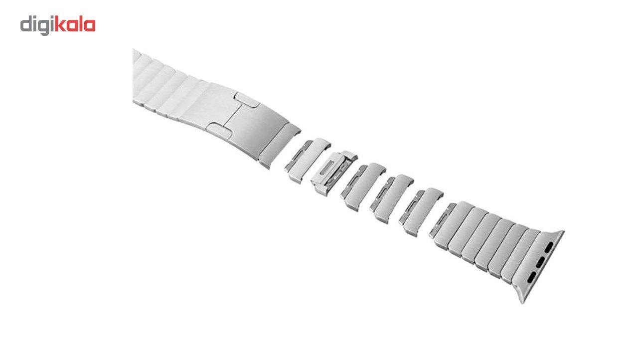 بند فلزی مدل Link Bracelet مناسب برای اپل واچ 42 میلی متری main 1 5