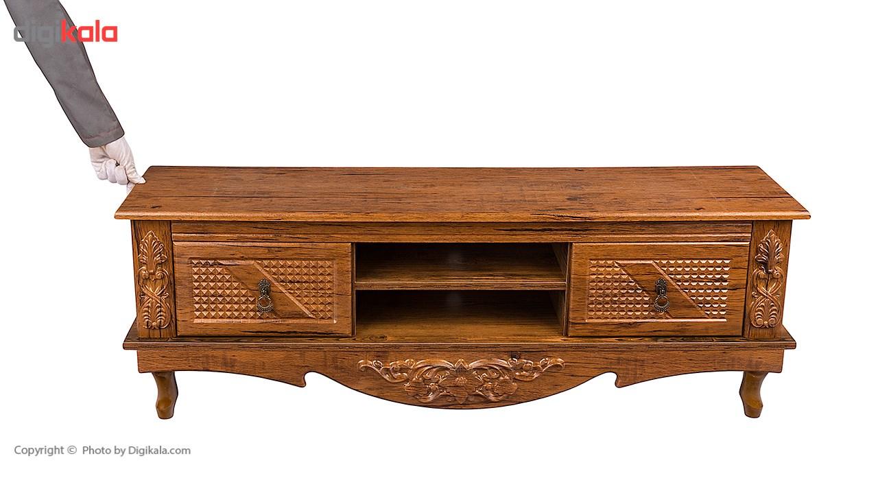 میز تلویزیون صنایع چوب قائم مدل K713 main 1 7