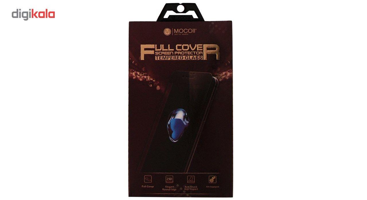 محافظ صفحه نمایش موکول مدل Full Cover Tempered Glass مناسب برای گوشی موبایل آیفون X/10 main 1 2