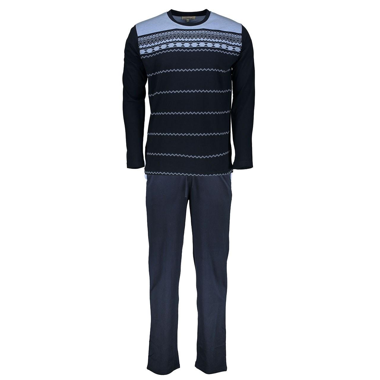 تی شرت و شلوار  مردانه  پی جامه مدل 5638