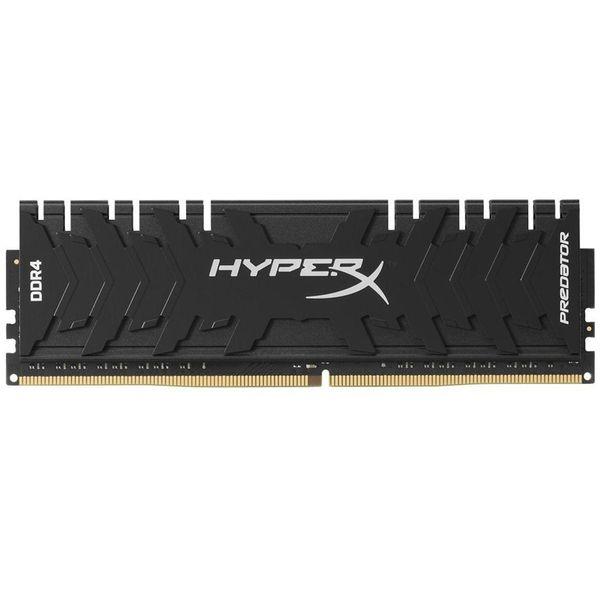 رم دسکتاپ DDR4 تک کاناله 3000 مگاهرتز CL15 کینگستون مدل HyperX Predator ظرفیت 8 گیگابایت | Kingston HyperX Predator DDR4 3000MHz CL15 Single Channel RAM - 8GB