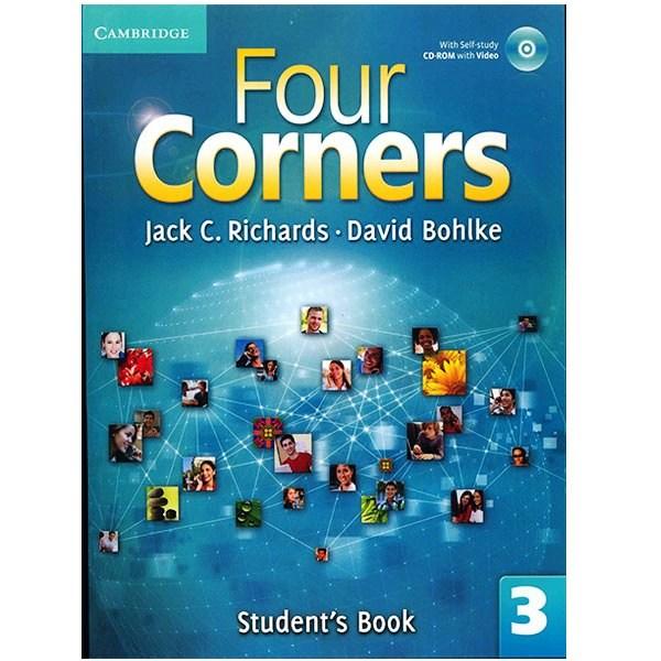 کتاب زبان Four Corners 3 Students Book + Workbook