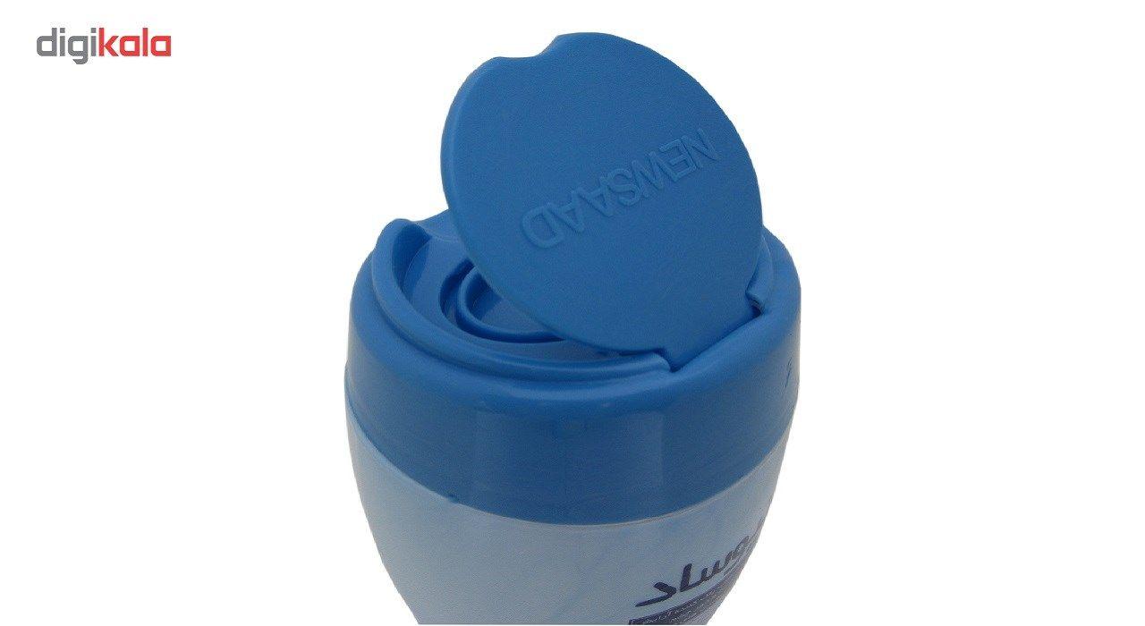 دستمال مرطوب پاک کننده آرایش نیوساد مدل Sensitive بسته 64 عددی main 1 3