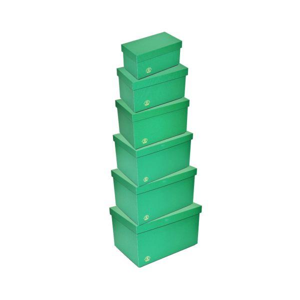 ست 6 عددی جعبه نظم دهنده تی سبز مدل TR