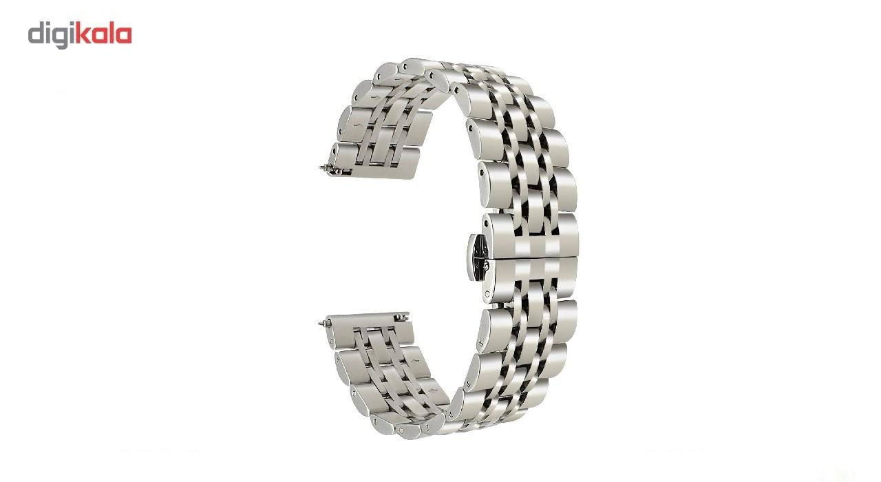 بند فلزی مدل Longines مناسب برای ساعت هوشمند Gear S3 main 1 3
