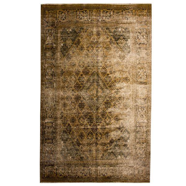 فرش قدیمی 7 متری سرزمین فرش کد cp2153
