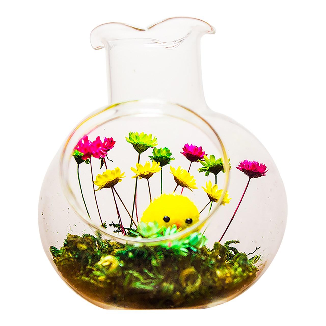 گل قهر و آشتی عرش مدل B102 همراه با گلدان