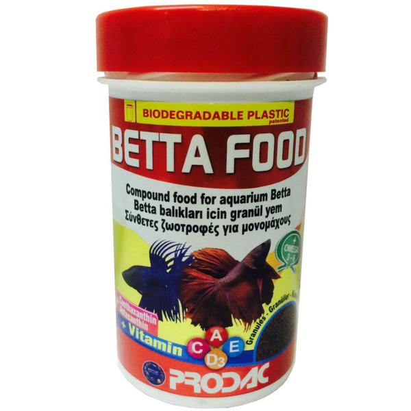 غذای ماهی پروداک مدل Betta Food  وزن 40 گرم