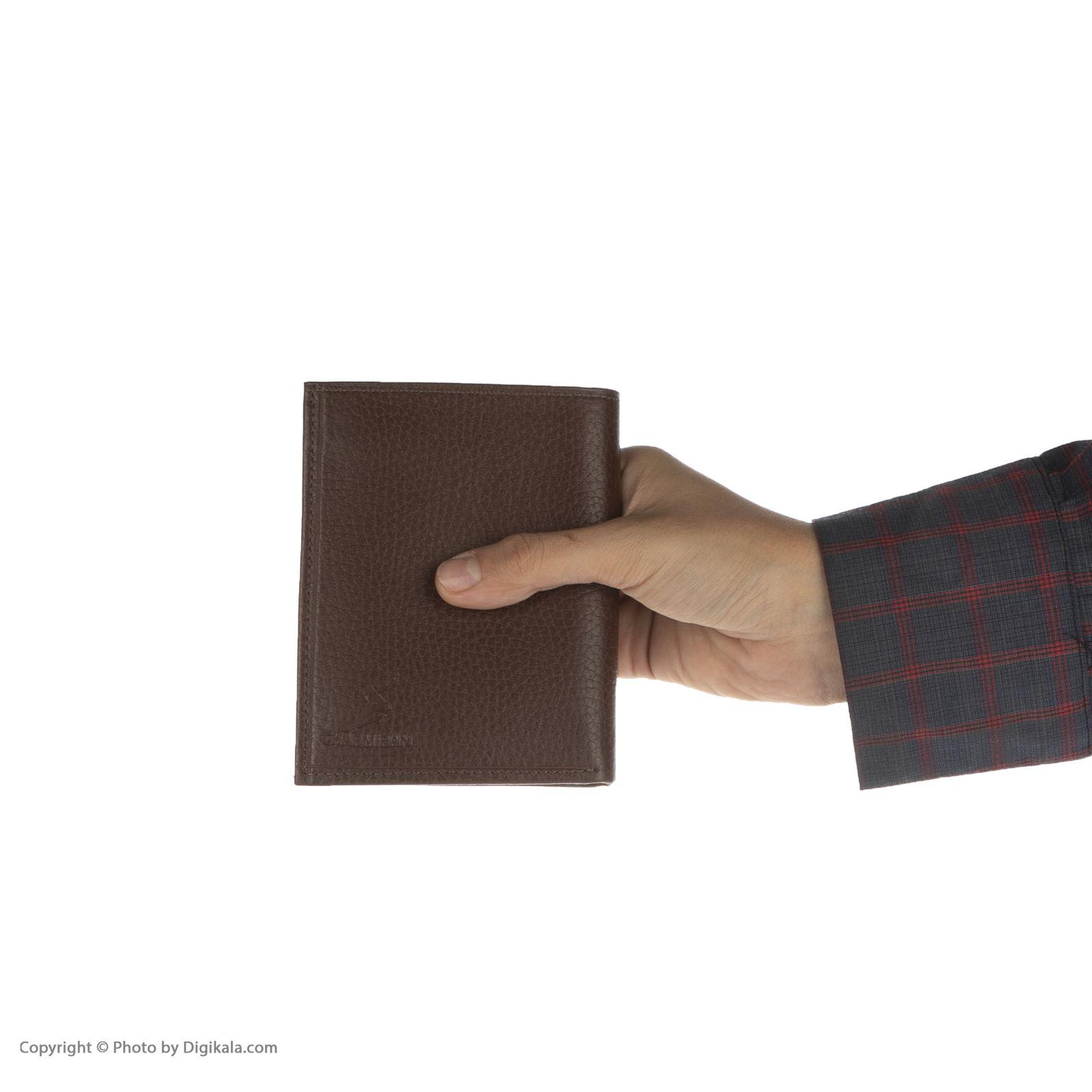 کیف پول مردانه چرمیران مدل 1000301 -  - 7
