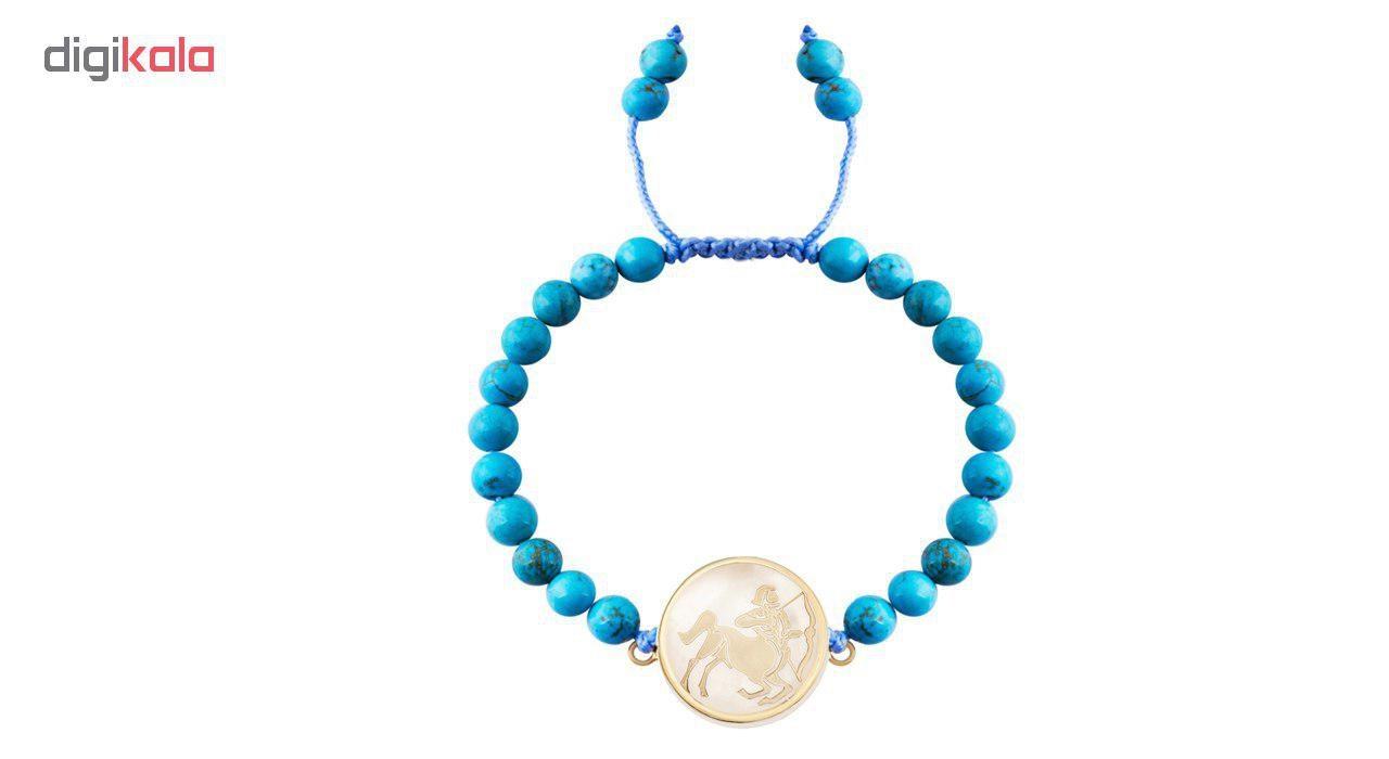 دستبند طلا  عیار مرجان مدل0570