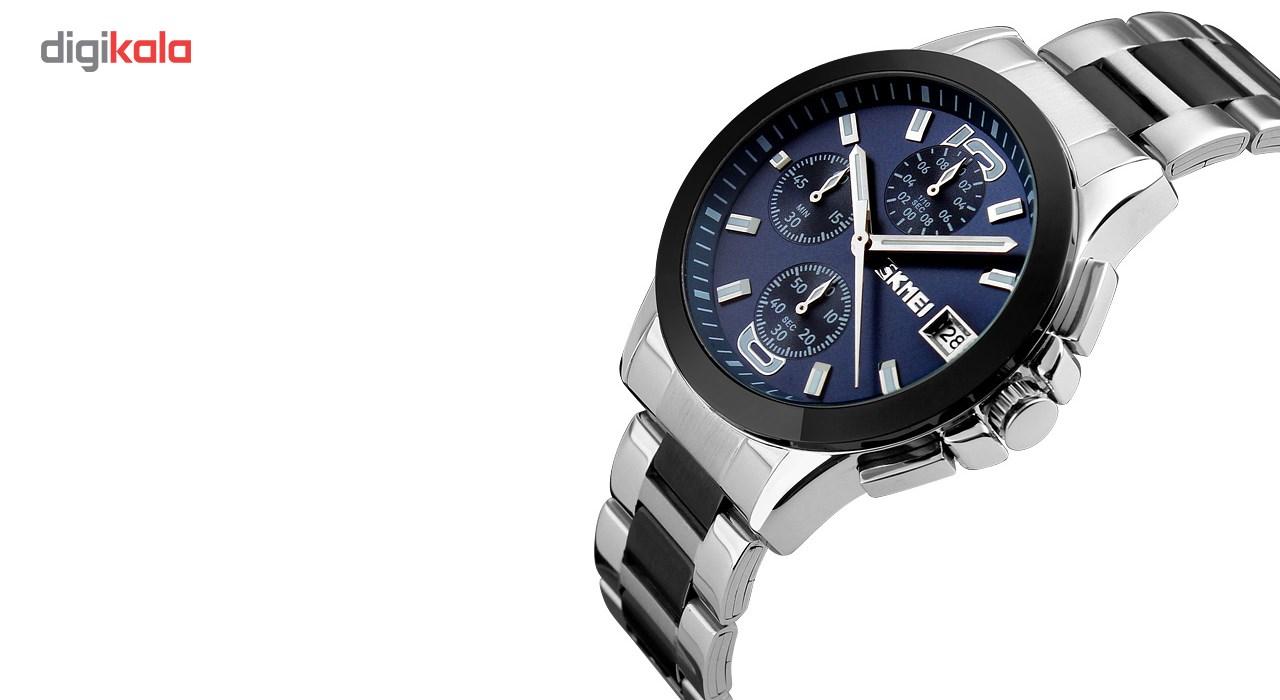 خرید ساعت مچی عقربه ای مردانه  اسکمی مدل9126  کد 02