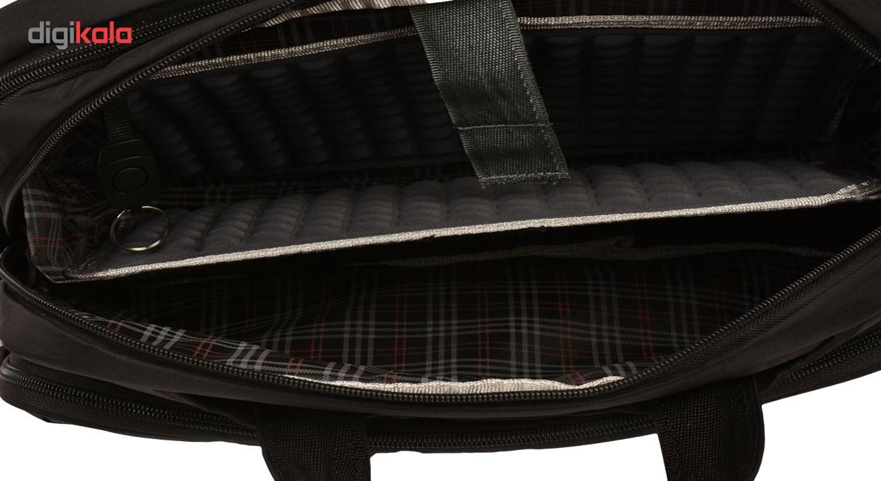 کیف اداری پارینه مدل P153 مناسب برای لپ تاپ 17 اینچی