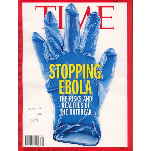 مجله تایم - سوم نوامبر اکتبر 2014