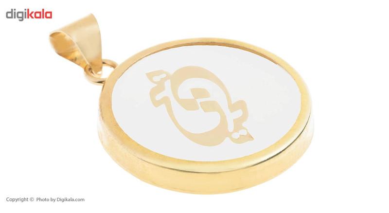 آویز گردنبند طلا 18 عیار ماهک مدل MM0685 - مایا ماهک