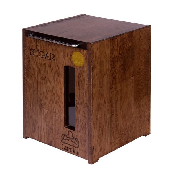 ظرف قند و شکر چوبی لومن مدل 3010