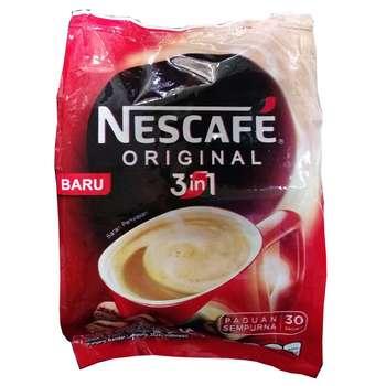 قهوه فوری نسکافه مدل Original 3 in 1 بسته 30 عددی