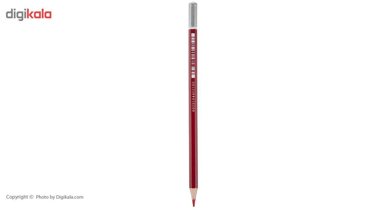 مداد قرمز پنتر مدل BP107  بسته 12 عددی main 1 2