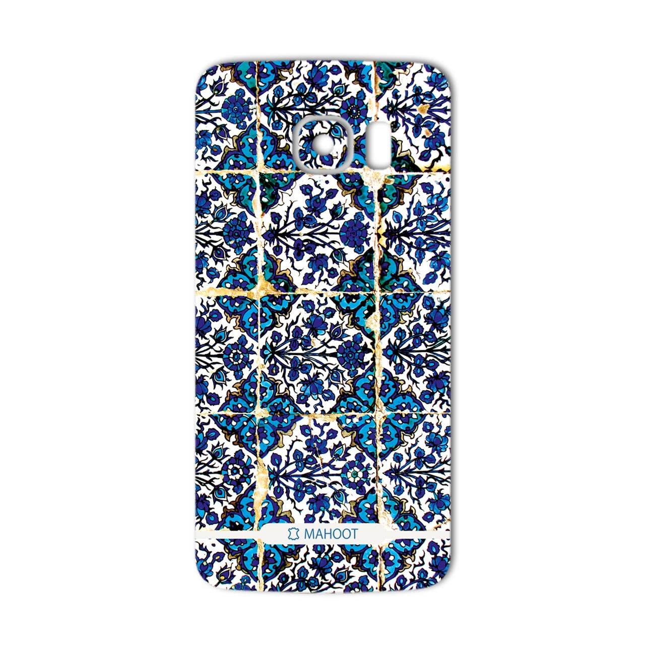 برچسب تزئینی ماهوت مدل Traditional-tile Design مناسب برای گوشی  Samsung S6 Edge