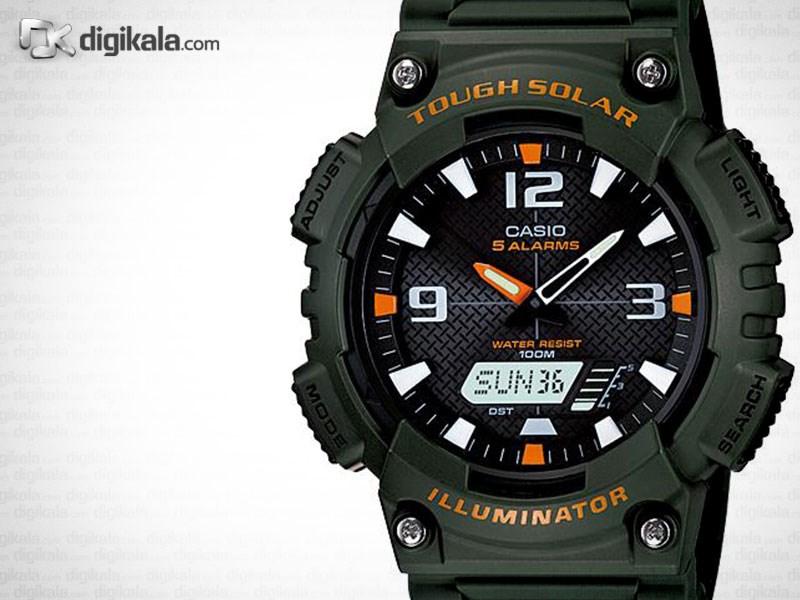 ساعت مچی عقربه ای مردانه کاسیو مدل AQ-S810W-3AVDF              خرید (⭐️⭐️⭐️)